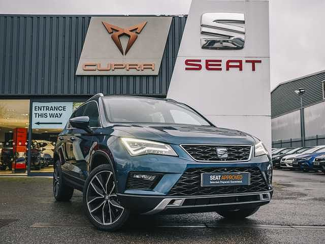 SEAT Ateca SUV 1.6 TDI (115ps) Xcellence Lux DSG 5-Dr